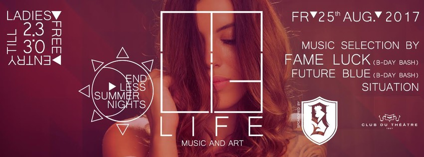 LIFE - ladies free entry till 23:30