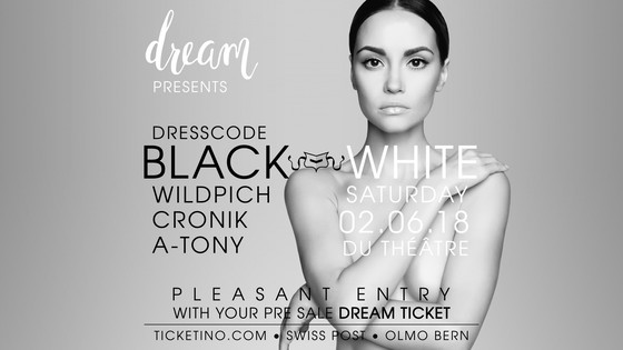 DREAM - black & white party